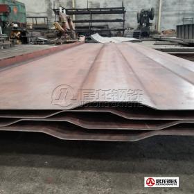 废固箱箱体边板折弯加工,材质NM300/NM400/NM450/NM500/Hardox450耐磨钢板。