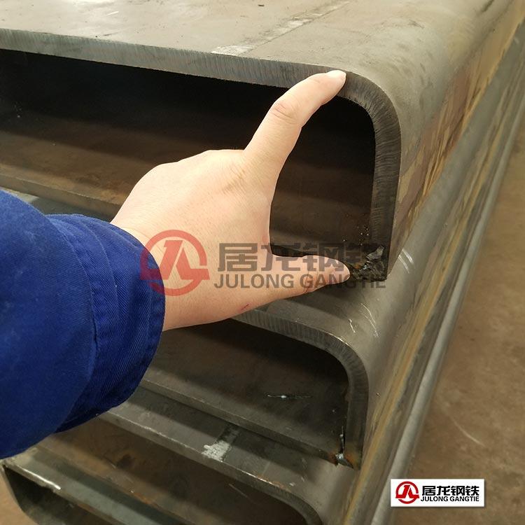 大型厚壁方矩管折弯焊接加工