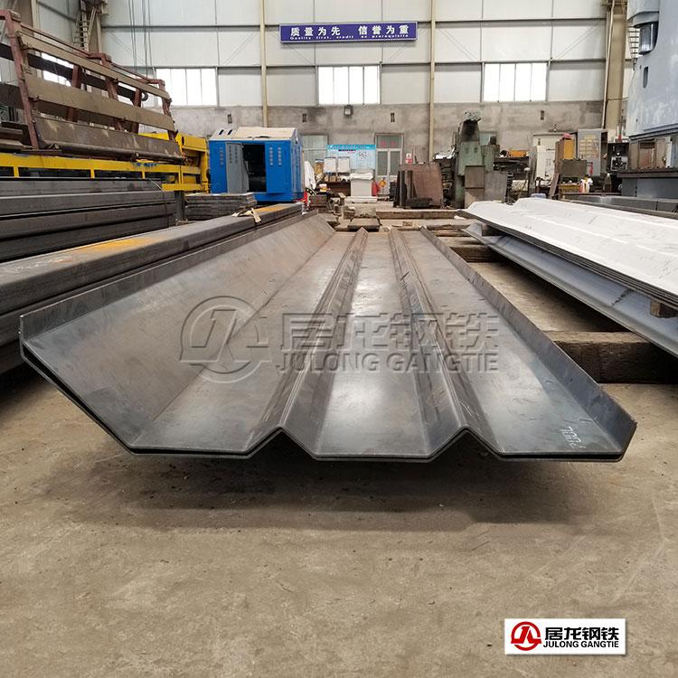 自卸车侧板T700高强板折弯加工,有限元分析角筋加强结构。